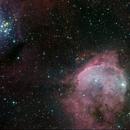 Near eta Carina: NGC 3324 and 3293,                                Carsten Jacobs