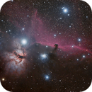 IC 434 - Nébuleuse de la Tête de Cheval - NGC 2024 Flamme,                                SuperGG83