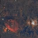 IC434 ,M42 et Cie,                                laup1234