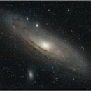 M31 in  HaRGB,                                Leonardo Landi