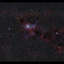 IC348 three scopes combined,                                Göran Nilsson