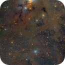 NGC 1333 in Perseus Molecular Cloud - Two-panel Mosaic,                                Eric Coles (coles44)