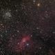 NGC 7654 (M52), NGC 7635 (The Bubble Nebula), NGC 7538 (The Northern Lagoon Nebula), LDN 1231, LDN 1230,                                don_iguanodon
