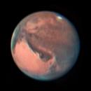 Mars on 31th October (LRGB),                                Henning Schmidt