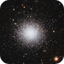 M13 (The Great Globular Cluster in Hercules),                                rupeshvarghese