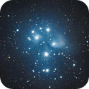Pleades (M45) Open cluster - Painterly,                                Dave Easton