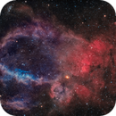 SH2-157 - The Lobster Claw Nebula (Bicolor),                                Alan Pham