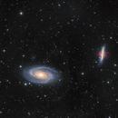 M81 & M82 (Bodes nebula and the Cigar galaxy),                                Jeremy Jonkman