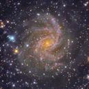 IFN around NGC 69469 and NGC 6939,                                chlopak