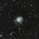 Galaxie M101,                                ASTROIDF