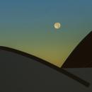 Super Moon over Astro La Vista Observatory,                    Jim Matzger