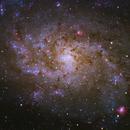 M33 The Spectacular Triangulum Galaxy,                                John Hayes