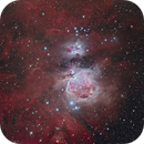 The Orion and Running Man Nebulas,                                Alan Dyer