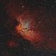 The Wizard Nebula (bicolor),                                Andrei