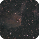 NGC1555/4 Hind's Variable Nebula, vdB28, Cederblad 32a-c; Taurus,                                Thomas V. Davis