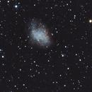M1 - The Crab Nebula,                                pmumbower