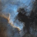 NGC 7000 in HST,                                Samuli Vuorinen