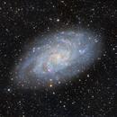 M33 - The Triangulum Galaxy,                                DocRx