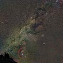 Komet Wirtanen, pleiades and Orion,                                  Andre van Zegveld