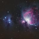 Orion Nebula M42 and the Running Man NGC1977,                                Matthias.Jakob