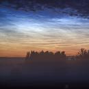 Noctilucent clouds (NLC) - 12/07/2019,                                Łukasz Żak
