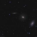 Draco Triplet • NGC 5985, 5982 & 5981,                                Douglas J Struble