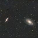 M81 und M82,                                Pierre Gatzki