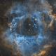 Rosette Nebula - My First Narrowband Image,                                HixonJames