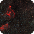 HEART & SOUL nebulae (IC1805 & IC1848) and DOUBLE CLUSTER,                                patrick cartou