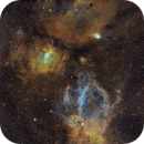 The Bubble and Lobster Claw Nebula Region,                                Gabe Shaughnessy