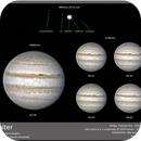 Jupiter in different focal lenghts,                                Koen Dierckens