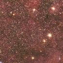 Detalle de NGC 7000. Nebulosa Norteamérica.,                                Esteban García Navarro