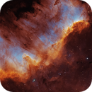 The Great Wall in NGC7000,                                Lars Stephan