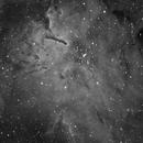 Emission Nebula NGC6820 with Open Cluster NGC6823,                                Theodore Arampatzoglou