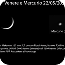 Venere e Mercurio 22 maggio 2020,                                Giuseppe Nicosia