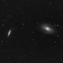 M81 + M82 galaxies,                                Tom914