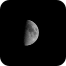 First Quarter Moon – T3i First Light,                                  Van H. McComas