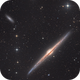 The Needle Galaxy (NGC 4565),                                KuriousGeorge
