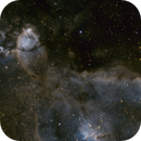 NGC896 in Hubble Palette,                                  Jeremy Burton