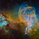 NGC3576 (Statue of Liberty Nebula),                                Dean Carr