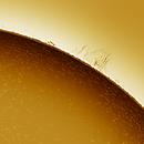 Solar prominence 20180128,                    Sergio Alessandrelli