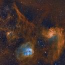 IC405 and IC410,                                Tadayoshi