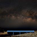 Milkyway over Lovers Bridge,                                David Cheng