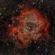 Rosette Nebula with short exposures,                                Boutros el Naqqash