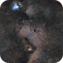 Milkyway Core in Narrowband,                                Ethan Wong