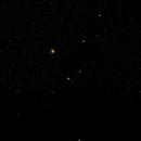 NGC6726/NGC6727 = Reflection Nebulae + NGC6723 = Globular Cluster + Corona Australis,                                Gary JONES