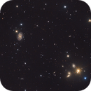 NGC5390 and few other small galaxies in Canes Venatici,                                Stellario