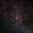 Eta Carinae region,                                Geoff Scott