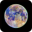 Mineral Full Moon perigee HDR and true colors,                                Phototriber