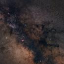 8 Panel Milky Way mosaic,                                Anderson Thrasher